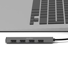 엑토 USB 2.0 4포트 무전원 포트확장 멀티허브 HUB-50