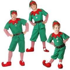 할로윈 숲속의정령 가족 성인 아동 코스튬 파티 의상 H