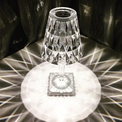 무선 크리스탈 램프 미니 단 스탠드 LED 무드등