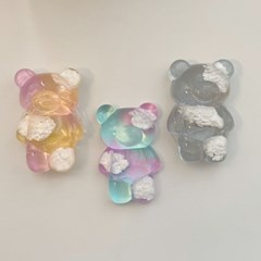[핸드폰 거치대] 구름베어 레진 그립톡