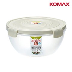 밀폐용기 믹싱볼 2.5L 수박 잡채 과일 다용도 샐러드 야채보관통