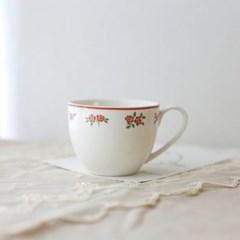 소소모소 레트로 플라워 커피잔