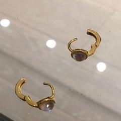 925 실버 원티치 링 데일리 패션 귀걸이