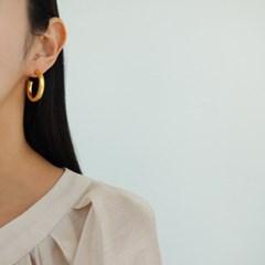 볼드 링 골드 실버 데일리 패션 E1338 귀걸이