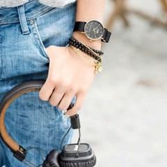 [CO88] 데일리 나토 스트랩 손목시계 블랙 8CW-10019