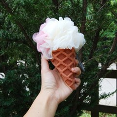 아이스크림콘 샤워볼