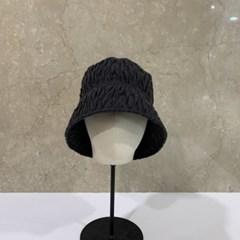 주름 플리츠 기본 심플 데일리 버킷햇 벙거지 모자