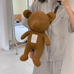 크로카 귀여운 곰돌이 테디베어 크로스 가방