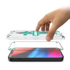 아이폰 13 프로 3D 풀커버 이지키트 강화유리 필름 지문방지 9H 강도