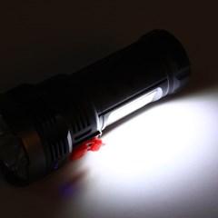 태양광 USB충전 손전등 코브램프 캠핑랜턴 보조배터리