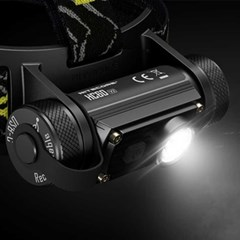 LED 헤드랜턴1200루멘 USB C타입 충전가능 랜턴단품