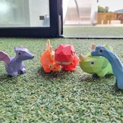 키저스 리틀 다이노 워터건 공룡 피규어 세트