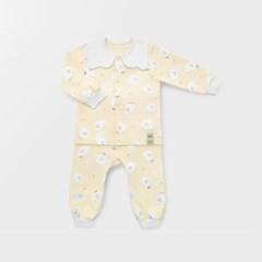 [메르베] 꼬마고스트 아기 백일선물세트(내의+우주복+모자)_겨울용