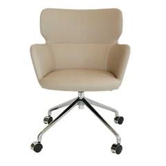 바핏 캐스터 크롬 의자[SH003639]