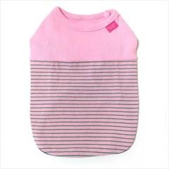 D18 블링독 어반 티셔츠 핑크