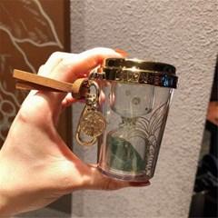 스타벅스 컵 모래시계 키링 열쇠고리 액세서리 굿즈  J