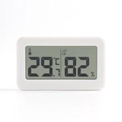 미니 디지털 온습도계 실내온도계(화이트)