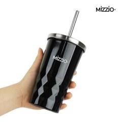 MiZZiO 파스텔 스트로우 보온보냉 텀블러 450ml