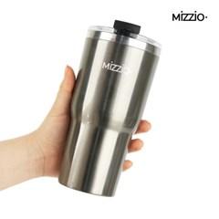 MiZZiO 점보 스테인레스 보온보냉 텀블러 600ml