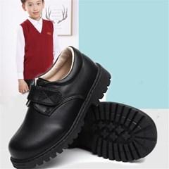 남아 아동 클래식 가죽 워커 로퍼 키즈 신발 구두 J