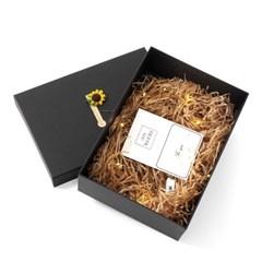 설렘 조명 선물상자 쇼핑백 전구 종이완충재 선물포장