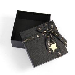 블랙레더 리본 선물상자 쇼핑백 선물포장 기프트박스