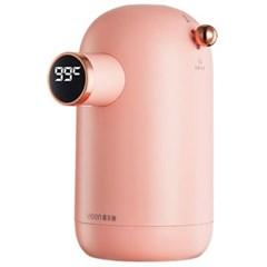 미니 디스펜서 순간 온수기 휴대용 전기포트 핑크