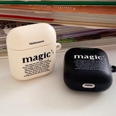magic 레터링 디자인 [에어팟 하드케이스]