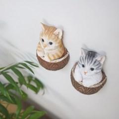 고양이 후크 다용도 걸이 2color