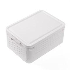 공간활용 접이식 리빙박스(30L) 폴딩박스 수납정리함