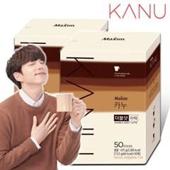 맥심 카누 더블샷 라떼 50+50T /커피/커피믹스