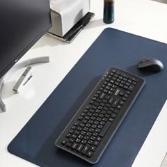 논슬립 인조가죽 방수 책상 마우스 패드 데스크 매트 6color