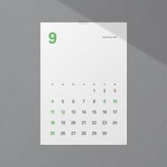 2022년 2WAY 먼슬리플래너+심플달력