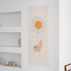 balloons/풍선_세로형 패브릭 포스터 / 바란스커튼