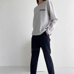 여자 맨투맨 무지 고스판 편한 긴팔 티셔츠