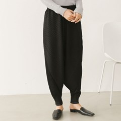 Pleats Rose Pocket Baggy Pants - 9부