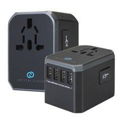 5포트 USB 전세계 여행용 해외 멀티 플러그 어댑터