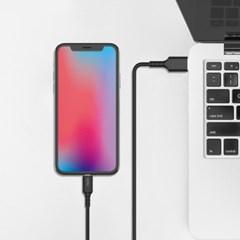 엑토 라이트닝 8핀 Mfi 인증 고속 충전 케이블 USB-43