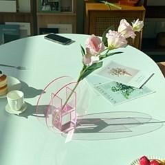 아크릴화병 소품 투명 인테리어꽃병 데코 3종