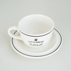 리틀넥 커피잔 세트 컵앤소서