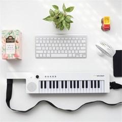 휴대용 디지털 피아노 37건반 충전식 버스킹 라이브 H