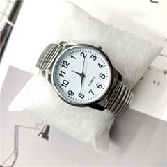 시원시원 큰 아날로그 심플 스틸밴드 손목시계 111