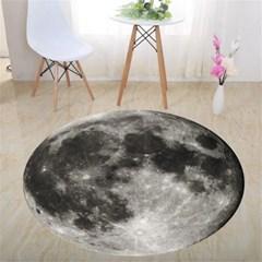 3D 입체 착시 원형 러그 달 지구 카페트 매트 아이방  H