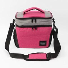 알로팜 보온보냉가방(핑크) / 보온가방 보냉가방