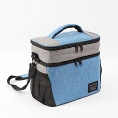 알로팜 보온보냉가방(블루) / 보온가방 보냉가방