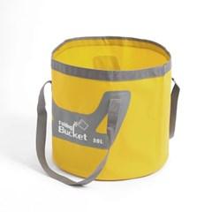 워터백 폴딩 버킷(20L) 캠핑버킷 셀프세차 물양동이