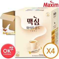 맥심 화이트골드 280TX4개 한박스 총1120T/커피믹스