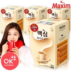 맥심 화이트골드 커피믹스 180T (1박스/4개입)