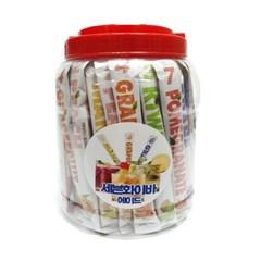 컬러푸드스토리 세븐화이바 7가지맛 스틱형음료베이스