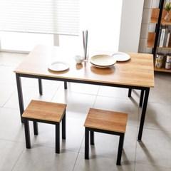 T8 로디 1800 6인식탁 식탁세트 4인용식탁 철제식탁